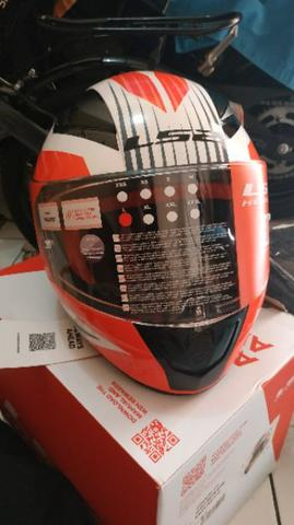 Helm LS2 FF353 Rapid White New Ex Hadiah