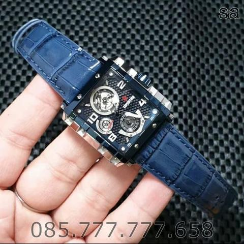 EXPEDITION EXP 6757 - JAM TANGAN WANITA ORIGINAL - BLUE SILVER