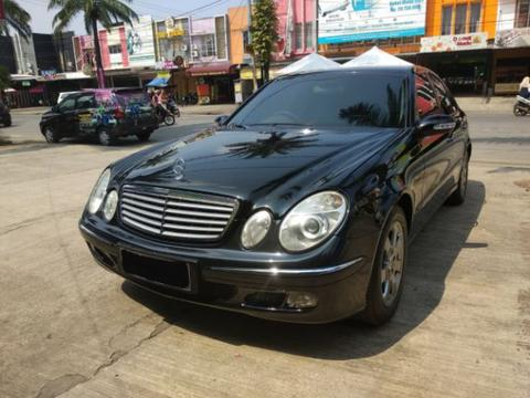 Mercedes For Sale >> Terjual For Sale 2003 Mercedes Benz Mercy E260 Elegance Automatic Interior Beige Nopol B Dki