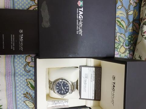 Fullset Tag Heuer Way1112 original authentic not IWC panerai rolex AP omega patek