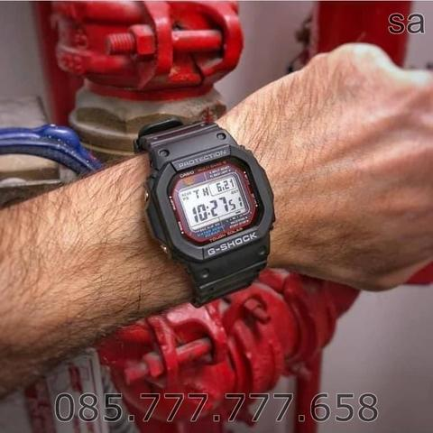 Jam Tangan Pria G-Shock GW-M5610-1ER Touch Solar Multiband 6 Limited