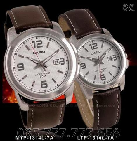 CASIO ORIGINAL MTP-1314L-7A COUPLE