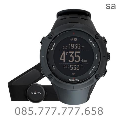 SUUNTO AMBIT 3 PEAK BLACK (HR) heart rate ORIGINAL
