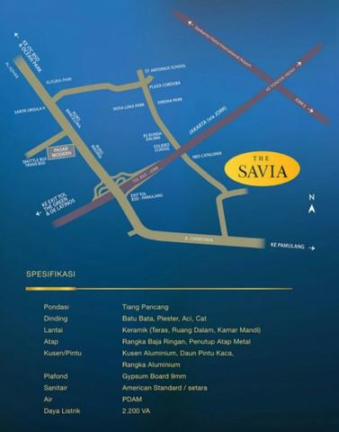 THE SAVIA RUKO BSD CITY