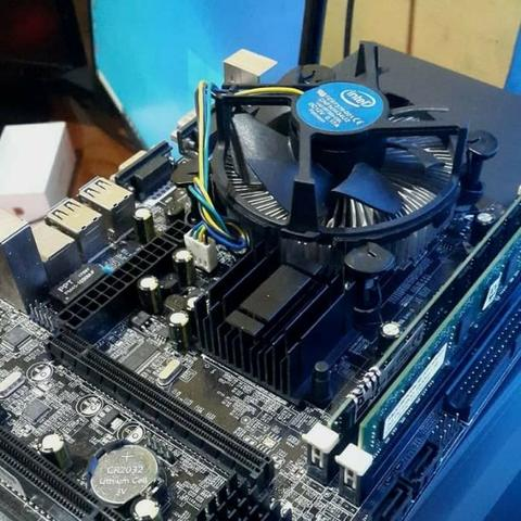 INTEL CORE DUO E7500 MOTHERBOARD G41 DAN RAM 4GB DDR3