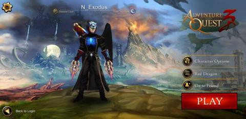 AKUN AQ3D | LVL MAX | ALL CLASS READY (KECUALI GUARDIAN)