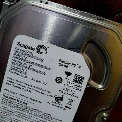 HDD SEAGATE PIPELINE 320GB 100% SEHAT LIKE NEW