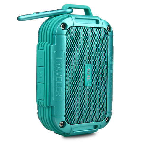 MIFA Waterproof Bluetooth Speaker with Carabiner - Blue