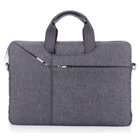 Qinuo Sleeve Case Shockproof for Laptop 15.6 Inch - Gray