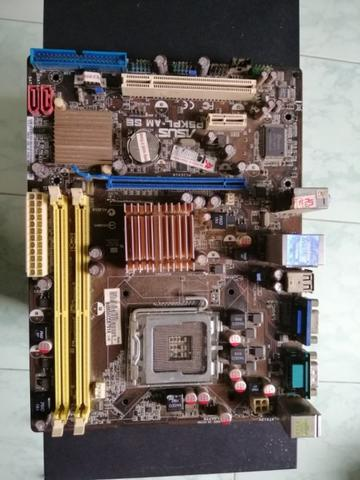 Mobo Asus g31 DDR2