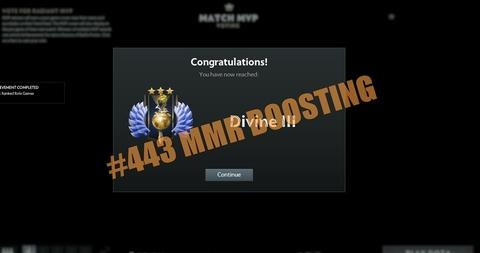BOOSTING MMR SERVICE by #443-