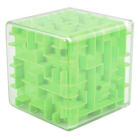 UainCube 3D Maze Labyrinth Speed Puzzle Cube - Green