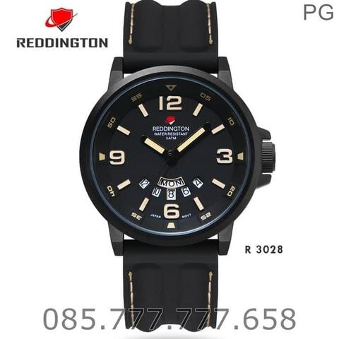 God Seller. Jam Tangan Redington R3028 Original Black Dial Cream