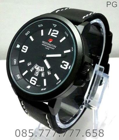God Seller. Jam Tangan Redington R3028 Original Black Dial White