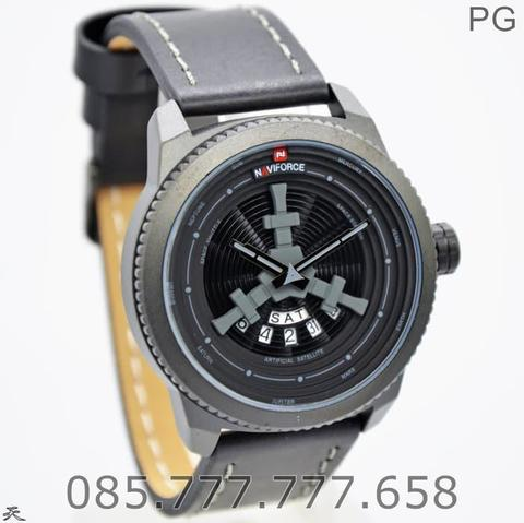 Jam Tangan Naviforce NF-9156M Original Leather Garansi 1 Tahun #1