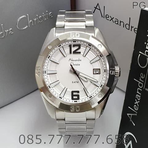 Jam Tangan Pria Alexandre Christie Stainless Warranty 1Years #1