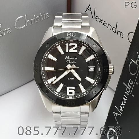 Jam Tangan Pria Alexandre Christie Stainless Warranty 1Years #3