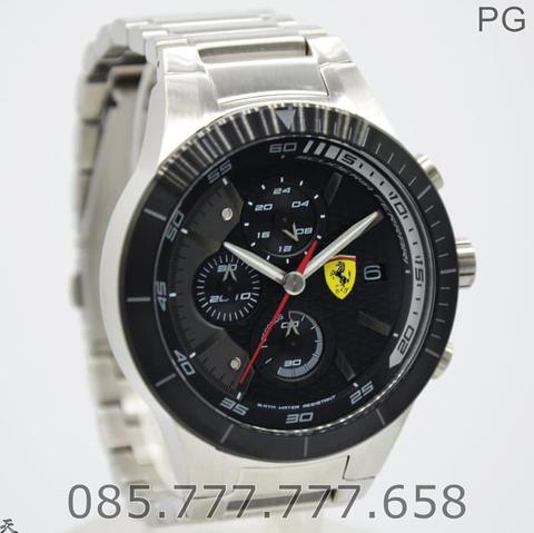 Jam Tangan Pria Sporty Ferrari 0830263 Original Warranty 2 Years
