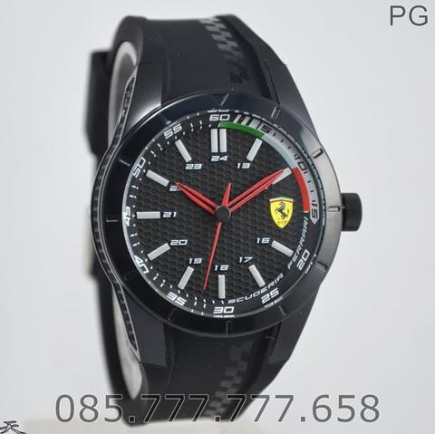 Jam Tangan Pria Sporty Ferrari 0830301 Original Warranty 2 YearS