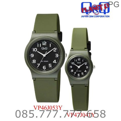 NEW AVAILABLE...!!! Jam Tangan COUPLE Q&Q QQ QnQ Original ROMANTIS 1