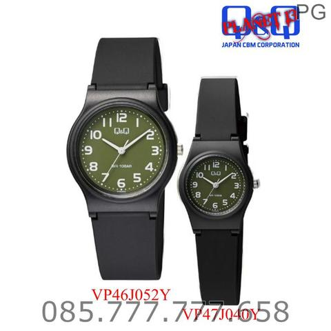 NEW AVAILABLE...!!! Jam Tangan COUPLE Q&Q QQ QnQ Original ROMANTIS 2