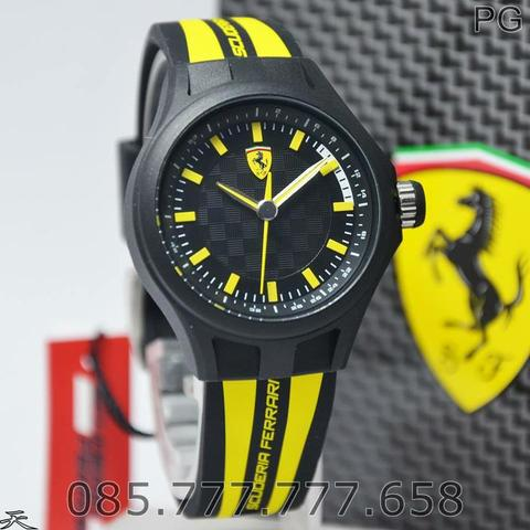 Big Sale Jam Tangan Sporty Ferrari Original Warranty 2 Years