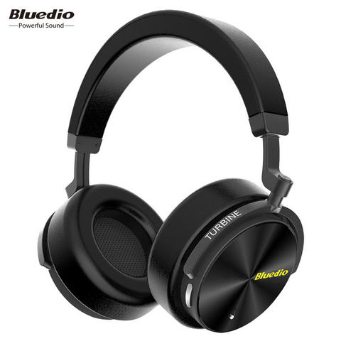 Bluedio Turbine Wireless Bluetooth Headphone - Black