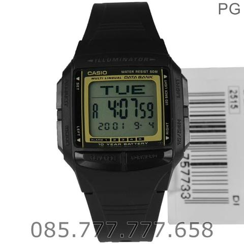 Jam Tangan CASIO ORIGINAL Data Bank DB-36 Series Warranty 1 Years