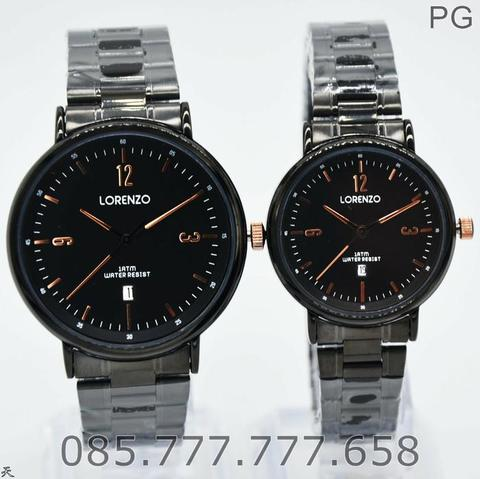 Jam Tangan COUPLE Lorenzo 1025 Original STAINLESS #4