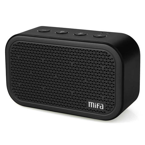 MIFA Mini Portable Bluetooth Speaker - Black