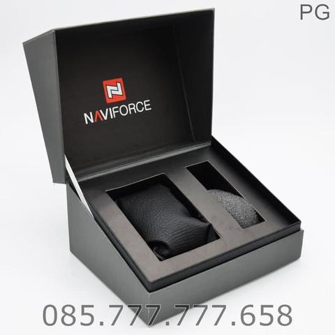 New Available..!!! Tangan Pria Naviforce Original NF-9109 Stainless #1
