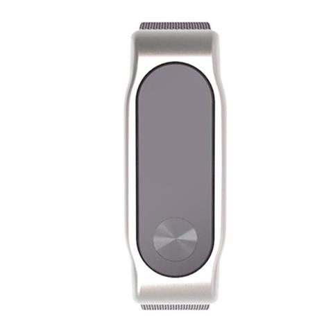 Watchband Milanese Stainless Steel Xiaomi Mi Band 2 (OEM) - Silver