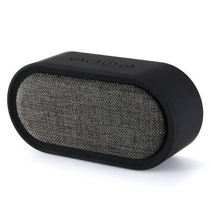 Remax Fabric Portable Bluetooth Speaker - Black