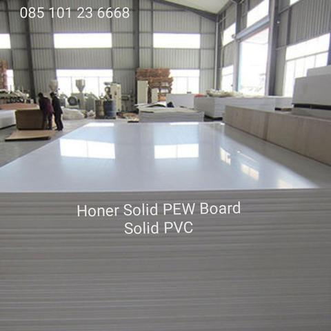 pvc solid board pew wpc honer