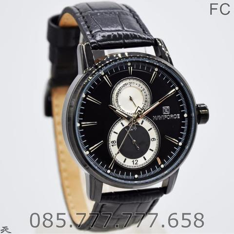 Jam Tangan Naviforce / NF Original Pria LA 3005 MB + Box