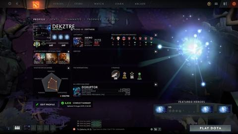 WTS ARCHON 4 FOR FUN / NEWBIE PLAYER CORE MMR 2358 SUPPORT 2369