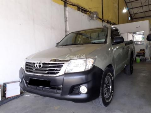 Toyota Diesel Pickup >> Terjual 2013 Toyota Hilux 2 5 Pick Up S Cab M T Diesel Good Condition Nego