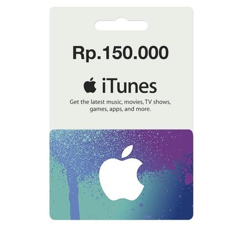 JUAL iTunes Gift Card Region Indonesia Only for in App / Games Purchases!
