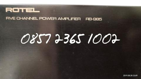 Power Multi Chanel Rotel RB985