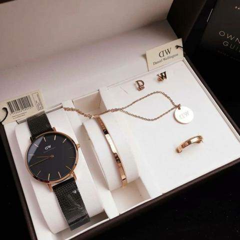 Daniel Wellington set lengkap