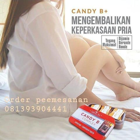 Candy B+ Complex Edisi 2 Barcode VERIFIED VALID - 100% ASLI 081393904441