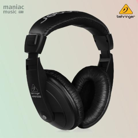 Behringer HPM1000BK Black (Headphone, Monitoring, Mixing, Recording, Wide Frequency)