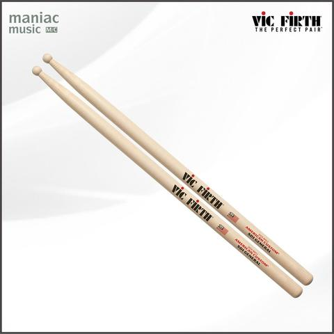 Vic Firth SD1 GENERAL (American Custom, Short Taper, Maple, Stik Drum, Stick, Small)