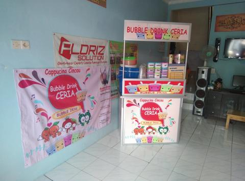 Bubble Drink Booth Portable