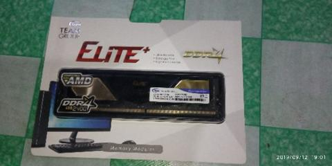Jual RAM DDR4 Team Elite 4Gb 2400 Garansi Lifetime