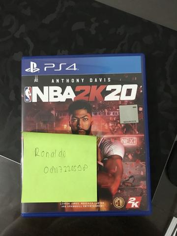 PS4 NBA 2K20 REG 3 BNOB