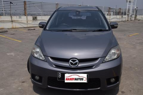 Mazda 5 Tahun 2007 / 2008 7 Seater Sunroof Matic Abu-abu - Handy Autos
