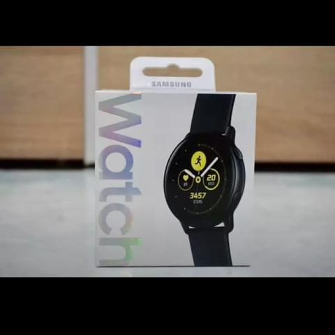 Samsung Galaxy Watch Active GRS RESMI SEIN
