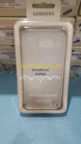 Clear Cover Samsung Galaxy Note 5 Original Sein Erajaya Jakarta