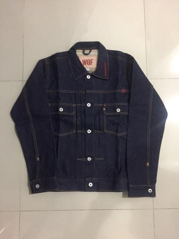 Wall of Fades 2018 COMMITTEE aye & co salomon type ii raw denim jacket RARE